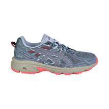 Asics Gel-Venture 6 MX Women's Shoes Steel Blue-Pink Cameo 1012A504-400 - $49.95