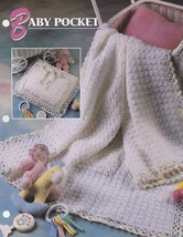 Baby Pocket,  Annie's Crochet Quilt & Afghan Pattern Club Leaflet QAC319-05 - $2.95