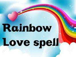 RAINBOW LOVE SPELL, powerful love spell, ancient magic spell, haunted magick - $147.00