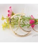 Moon Fashion Woman Hair Accessories Hair Clip Pin Metal Geometric Alloy - $9.00