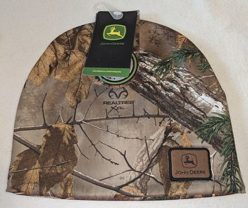 John Deere LP 52399 Real Tree Camouflage 100 Percent Polyester Beanie