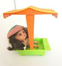 Vintage 1966 Mattel Kiddle Mille Middle w/ Sandbox  - $48.99