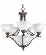 Avalone Collection Braided Metal Accents Hanging Chandelier 5 Light P406... - $289.29