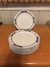 "Set of 6 Dansk Bistro Maribo Blue Red Berries Bread & Butter Plates 7 1/4""  - $34.99"