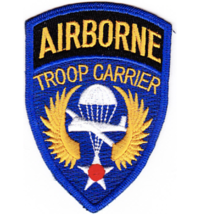 "3.5"" Army Airborne Troop Carrier Embroidered Patch - $23.74"