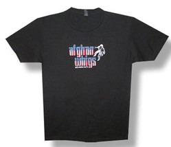 Afghan Whigs-Stars And Stripes 1977 Tour-Black Lightweight T-shirt - $18.99