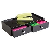 mDesign Office Supplies Desk Drawer Organizer for Staplers, Pens, Marker... - $17.12