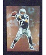 2001 Upper Deck FX Football #54 Tom Brady [New England Patriots] Rookie ... - $4.50