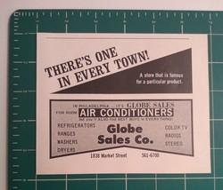 1970's Globe Sales Co. Advertisement Philadelphia, PA - $15.00