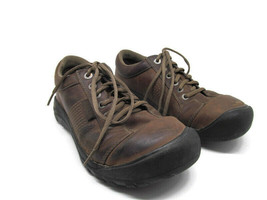 Keen Austin 1007722 Mens Brown Leather Casual Lace Up Shoes Size US 8.5 ... - $37.83