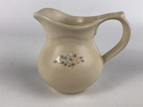 Pfaltzgraff Remembrance Creamer Peach Pink and similar items