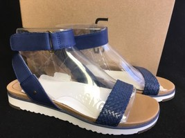 Ugg Australia Laddie Women's Ankle Strap Marino Blue Sandal 1015817 multiple sz - $69.99