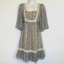 JOVOVICH HAWK for Target juniors BOHO peasant print dress bohemian chic ... - $24.74