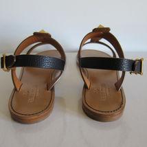 NEU 1292161 Sandalen mit f markiert Gladiator Valentino Skarabäus Gold schwarz 51SCq