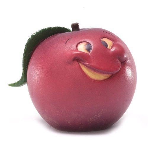 Enesco Home Grown Plum Crazy Figurine, 2-Inch