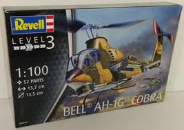 Revell 1/100 Bell AH-1G Cobra US Army Plastic Model Kit - $12.00