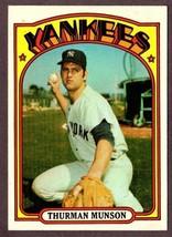 1972 Topps #441 Thurman Munson Baseball CARD- New York Yankees! - $14.80