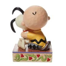 """Beagle Hug"" a Charlie Brown and Snoopy Figurine - Jim Shore Peanuts Collection image 4"