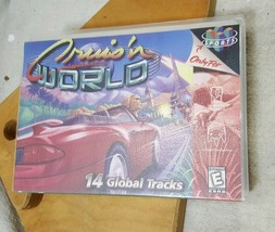 Cruisin World N64 (Nintendo 64, 1996) CASE ONLY Clear Plastic Clam Shell - $14.84