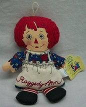 "Applause RAGGEDY ANN DOLL ORNAMENT 7"" Plush STUFFED ANIMAL Toy  NEW - $19.80"