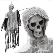 Halloween Decoration Spooky Party Creepy Scary Skull Haunted Hanging Dol... - $280,41 MXN