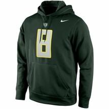 "Nike Oregon Ducks #8 Performance Hoodie Green ""Medium"" - $23.76"