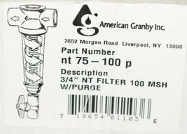 American Granby nt75100p Water Filter Spin Down Separator image 7
