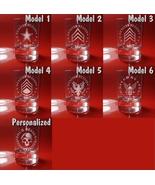 Set of 6 Shot Glasses  US Military, Veteran, Navy seals, US marines, Army - $39.99