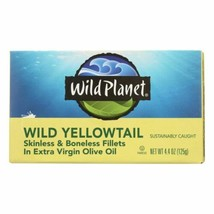 Wild Planet Wild Yellow Tail Fillets In Extra Virgin Olive Oil - Case Of... - $65.96