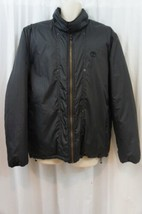 Timberland Men's Jacket Sz L BLACK Insulated Weatherproof Classic Bomber Jacket  - $89.08