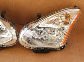 08-10 Nissan Rogue HID Xenon Headlights Set L&R - POLISHED image 2