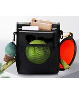 Dog Training Pouch with Collapsible Bowl Training Clicker Waste Bag Disp... - £8.35 GBP