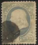 United States 1870-71 Scott # 134 Used - $87.50