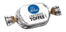 Saybon Liquorice Toffee -11Lbs - $171.27