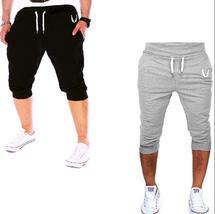 Men Printed Fashion Shorts Sports Running Hip Hop Trousers