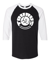 Taurus Firearms White Logo Raglan Baseball T Shirt Gun Rights Pistol Bla... - $19.79+