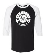 Taurus Firearms White Logo Raglan Baseball T Shirt Gun Rights Pistol Bla... - $19.79+
