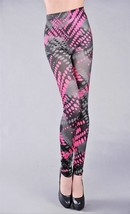 LEGGINGS COLOFUL ABSTRACT JEGGINGS OS - $7.91
