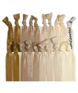 Kenz Laurenz Elastic Ponytail Holders, Pack Of 20 - Blonde Ombre - $20.32