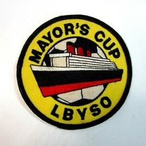 Vintage 1980's Long Beach Youth Soccer Organization Mayor's Cup LBYSO Patch - $8.75