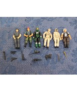 "Vintage  GI Joe Lot 6 Figures 3.75"" With Weapons Unclassified Mystery - $49.50"