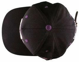 Cousins SportsWear Men's Hollywood Directors Leather Strapback Baseball Hat NWT image 3