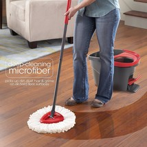 2 PACKS Mopping O-Cedar Easy Cleaning Wring Spin Mop Refill Mop HEAD ONLY - $19.29