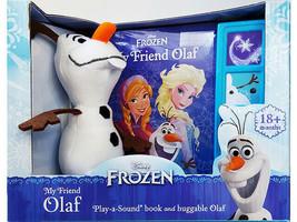 Disney Frozen My Friend Olaf Play-a-Sound(R) Book and Huggable Olaf