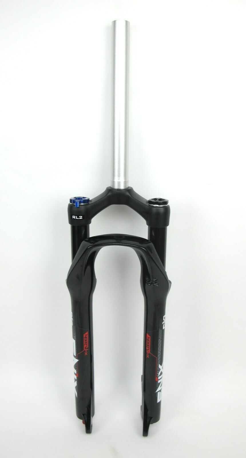 "X-Fusion Enix RL2 Fork Black  26/"" 1 1//8in 100mm Travel  9mm Disc Air"