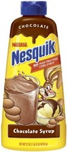 Nestle Nesquik Syrup, Chocolate, 22-Ounce Bottles Pack of 6 - $28.31