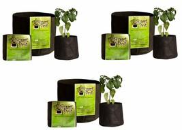 """5 Gallon Smart Pot 12""""x 9.5""""- 3 Pack - $42.90"""