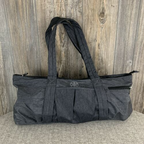 "Primary image for GAIAM Yoga Bag/Duffel/Gym Bag~Carry-All~Heather Grey~100% Nylon (24"" x 12"" x 5"")"