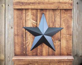 "Antique Black Barn Star 18"""