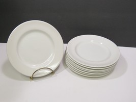"""Set of 8 Johnson Brothers White Bread Butter Side Plates 6.25"""" - $19.80"""